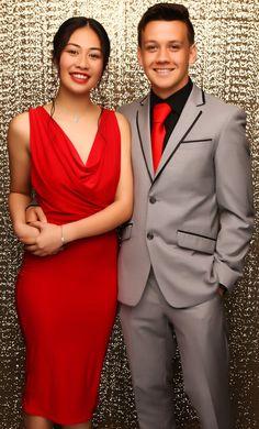 Massey Ball 2015. Gorgeous couple! www.whitedoor.co.nz