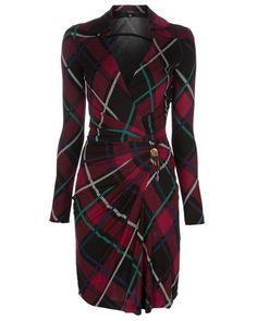 Gucci tartan (plaid) dress.