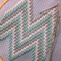 Resultado de imagen para embroidery bargello