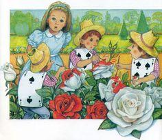 alicismo: Illustration by Pierre Kuron Alice In Wonderland 1, Adventures In Wonderland, Go Ask Alice, Painting The Roses Red, Illustrators, Prime Time, Artist, Google, Artists