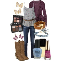 School, created by cuntrygurl on Polyvore