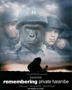 Remembering Private Harambe