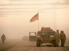 Bin Laden was also mad that U.S. Troops were helping Kuwait keep Iraq from overtaking the land in Desert Storm