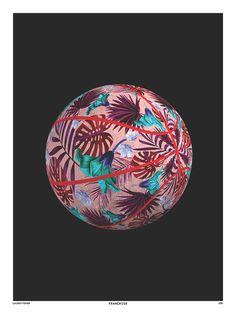 Pattern Basketball Print by Lauren Fisher Murals Street Art 58abc2727c49f