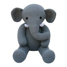 This adorable elephant pattern is part of the Knitables 'Knit a Teddy' collection. The 'Knit a Teddy' collection contains a selection of adorable animal teddies, cute outfits which are designed to fit all the different animals and fun accessories. Simply mix and match the teddies, outfits and accessories to create your perfect knitted teddy for that someone special! The pattern has clear row by row instructions and lots of photographs to help you along the way. You will need to be able to…