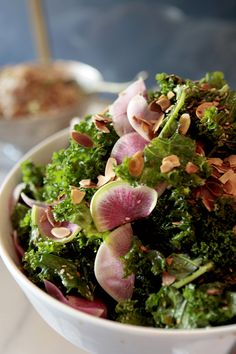Nourish Kitchen + Table's Detox Kale Salad