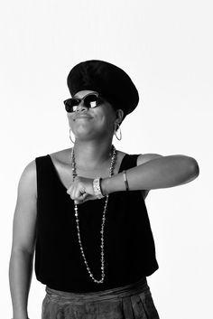 © Janette Beckman – Queen Latifah, 1990 (Hip Hop Revolution, Museum of the City of New York) Queen Latifah, 90s Hip Hop, Hip Hop And R&b, Hip Hop Fashion, 90s Fashion, Urban Fashion, Fall Fashion, Fashion Online, Afro