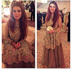 Pakistani musician & engineer Momina Mustehsan. Outfit by Saira Shakira.