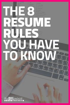 Are you struggling with writing a modern resume? Then you need these eight professional, universal resume rules! Cover Letter Tips, Writing A Cover Letter, Cover Letter For Resume, Cover Letter Template, Cover Letters, Resume Writing Tips, Resume Tips, Resume Examples, Mom Advice