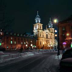 Warszawa Krakowskie Przedmieście