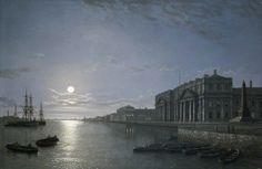 The Thames and Greenwich Hospital by Henry Pether