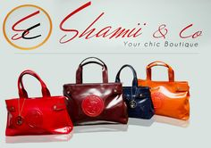 Armani handbags from KES only at Shamii Boutique