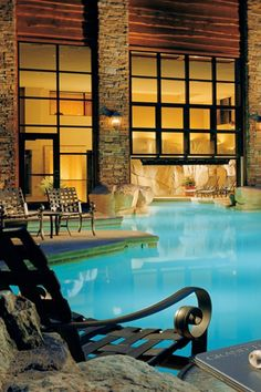 Unique spa treatments and surroundings will make you forget how cold it is.