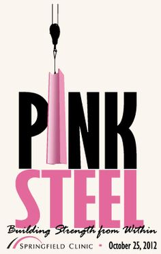 e8ed33f7b Poster for Pink Steel for Breat Cancer Awareness