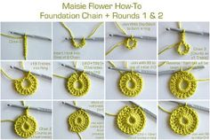 Maisie Flower How-To