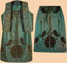 Antique Turkish Costumes Embroidery