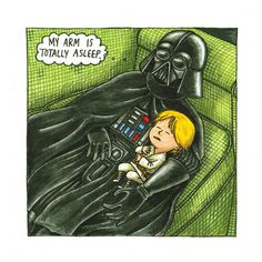 Darth Vader and Son : What if Darth Vader took an active role in raising his son?: the mental_floss store