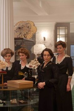 The ladies of the Accessories department: mr. selfridge trailer - Google Search