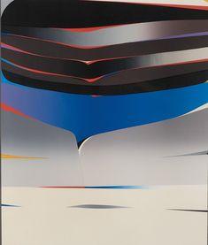 Komposisjon (Composition), ca 1975. Gunnar S. Gundersen (1921 – 1983). Screen print, 61 x 72 centimetres. Edition: 150 Printer, Composition, Abstract, Summary, Printers, Being A Writer