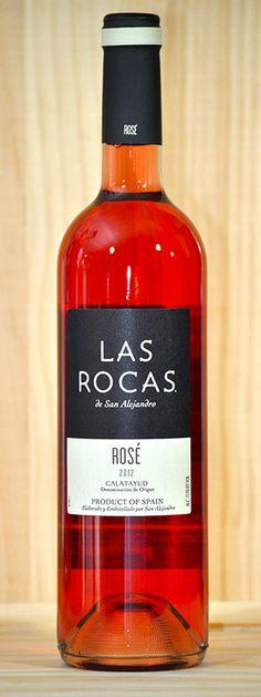 Las Rocas 2012 Rose Rose hints and the enticing aromas of raspberry and strawberry in this wine. Clean and fruit forward. $10.07 per bottle Delivermywine.com 888-959-7721