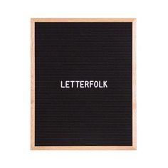 Letter Boards for the Home — Shop — Letterfolk