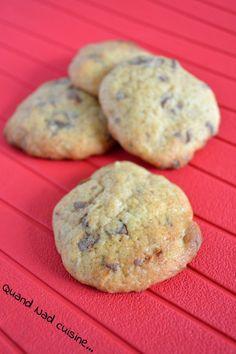 Cookies banane chocolat