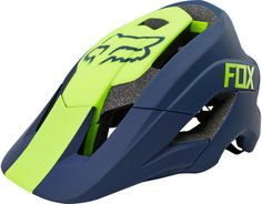 Fox Racing Metah Graphic Helmet - Navy - This original Fox Racing product has a part number of 15933 and a color code of The product is known as: METAH GRAPHIC HELMET. Cycling Bikes, Cycling Equipment, Mountian Bike, Mountain Biking Women, Pedal, Bicycle Maintenance, Fox Racing, Bike Accessories, Sport Bikes