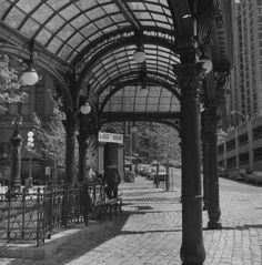 Pergola in Pioneer Square, Seattle, Washington, 1973 :: Modern Photographers Collection