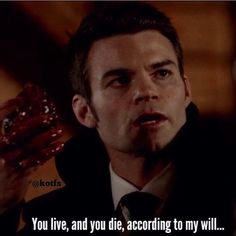 Really starting to dislike Elijah in The Originals, he either needs to go back to Mystic Falls or go away for a bit