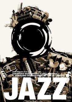 mar arregi   Jazz Poster