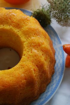Bizcocho de zanahoria y naranja http://cocineraymadre.com/2014/09/27/bundt-de-zanahoria-y-naranja/