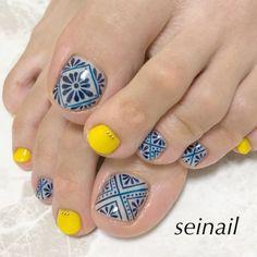 Toenail Art Designs, Pedicure Designs, Simple Nail Art Designs, Chic Nails, Swag Nails, Uv Gel Nails, Manicure, Feet Nail Design, Blue Nails