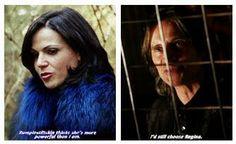 He still chooses Regina.... :) I love Rumple for this <3