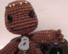 Crochet Sackboy Amigurumi.