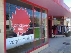 Artichoke Red Vegan Market.