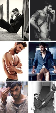 50 shades of Jamie Dornan.