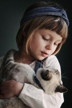 Cuteness overloading!   kids with pets     pets     kids   #pets https://biopop.com/