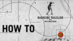 How To: Backside Tailslide with Joey Brezinski   TransWorld SKATEboarding - http://DAILYSKATETUBE.COM/how-to-backside-tailslide-with-joey-brezinski-transworld-skateboarding/ - Joey Brezinski shows you how to slide it and push it, push it real good. Video / @thejoeface Follow TWS for the latest: Daily videos, photos and more: http://skateboarding.transworld.net/ Like TransWorld SKATEboarding on Facebook: https://www.facebook.com/TransWorldSkate Follow TransWorldSKATE on - back