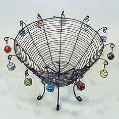 """""""Lost My Marbles Basket"""" by Sally Prangley"""