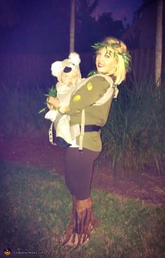 Baby Koala in a Eucalyptus Tree - Halloween Costume Contest via @costume_works
