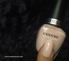 Cuccio Colours - I Left My Heart in San Francisco. Opaque – Pale, natural pink