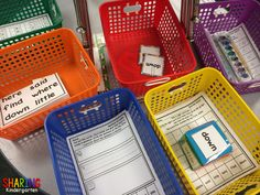 Sight Word Stations for #Dolch words from Pre-Primer thru #firstgrade & #secondgrade .  $