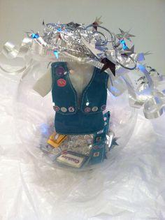 Girl Scout ornament Troop Leader glass globe keepsake by WildKards, $14.99
