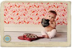valentine's day - baby with box of candy
