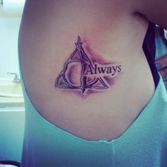 30 Harry Potter Tattoos for Girls and Women (4)