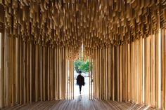 House of G: Adjaye Sclera Pavilion