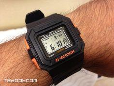 Wrist shot of my rare BEAMSxG-SHOCK collaboration, the G-5500BE