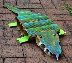 30 Ideas para hacer en clase - Educación Preescolar - Alumno On Vbs Crafts, Paper Crafts For Kids, Preschool Crafts, Projects For Kids, Diy For Kids, Art Projects, Arts And Crafts, Preschool Jungle, Jungle Crafts