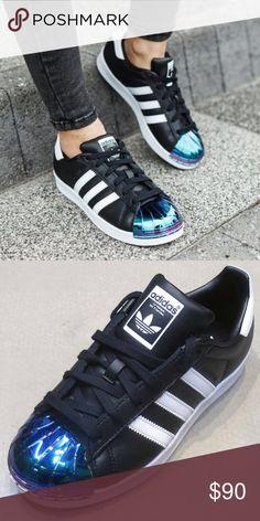 new concept ebf72 b9d32 Adidas Superstar Metal Toe Womens Shoes