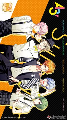 Follow me 👉 Max Alice 👈 Tks ^^ | A3! Hot Anime Boy, Anime Guys, Video Game Anime, Japanese Games, Alice, Bishounen, Manga Boy, Manga Games, Funny Animal Videos